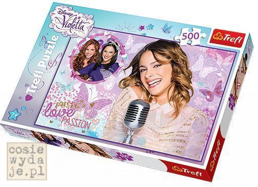 Puzzle Disney Violetta Zaśpiewajmy 500