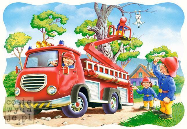 Puzzle 30 Strażacy wakcji CASTOR
