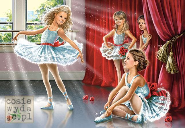 Puzzle 120 Ballet Class CASTOR